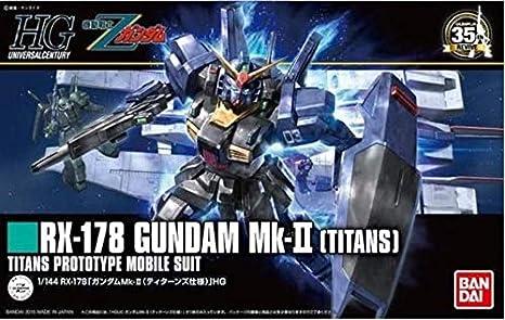 GUNDAM - HGUC RX-178 Gundam MK-II Titans 1/144 - Model ...