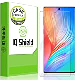 IQ Shield Screen Protector Compatible with Samsung Galaxy Note 10+ Plus (6.8 inch Display)(2-Pack)(Case Friendly) LiquidSkin Anti-Bubble Clear Film