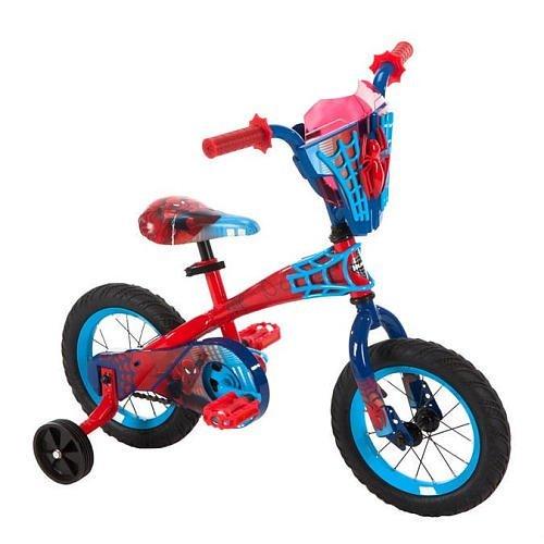 Boys 12 inch Huffy Spider-Man Bike
