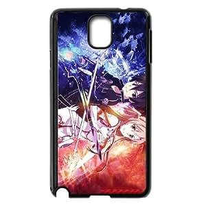Sword Art Online Sao Kirito & Asuna Samsung Galaxy Note 3 Cell Phone Case Black Phone Accessories JV240958