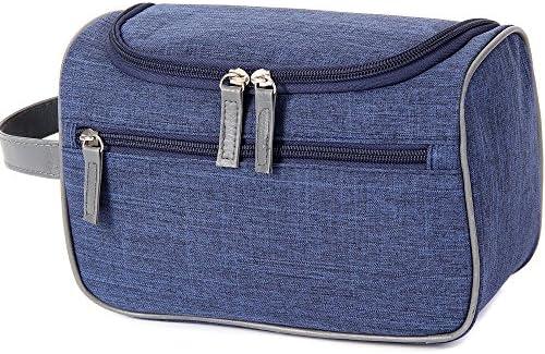ウォッシュバッグ トラベルトイレタリーバッグ特大メイク主催防水シャワーウォッシュバッグ化粧ケース家庭用グルーミングキットストレージトラベルキットパック トイレタリーバッグ (Color : Blue)