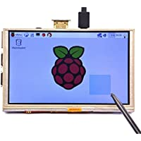 GeeekPi Raspberry Pi 5 inch 800X480 HDMI Monitor Resistive Touch Screen TFT LCD Display for Raspberry Pi 3/2/Model B+