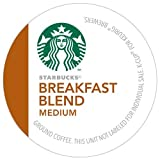 Starbucks Breakfast Blend Coffee K-Cups, 24 K-Cups, 2 Pack