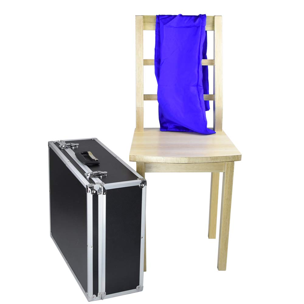 Doowops Floating Chair with Silk Magic Tricks Magician Stage Illusion Props Accessory Gimmick Comedy Mentalism Magic by Doowops (Image #1)