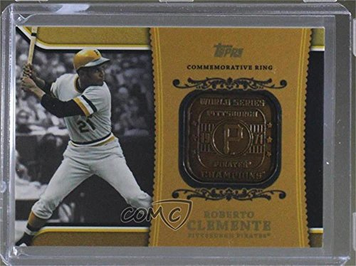 Roberto Clemente  Baseball Card  2012 Topps   Wal Mart Factory Set Roberto Clemente Career Rings  Wm Rc2
