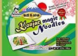 Easy to Prepare, No Boiling, Shirataki Magic Noodles [4-pk], Non-GMO, Gluten-Free, No Drain/Rinse needed, Vegan, Konjac, Konnyaku, Low Carb, Low Calories, Instant