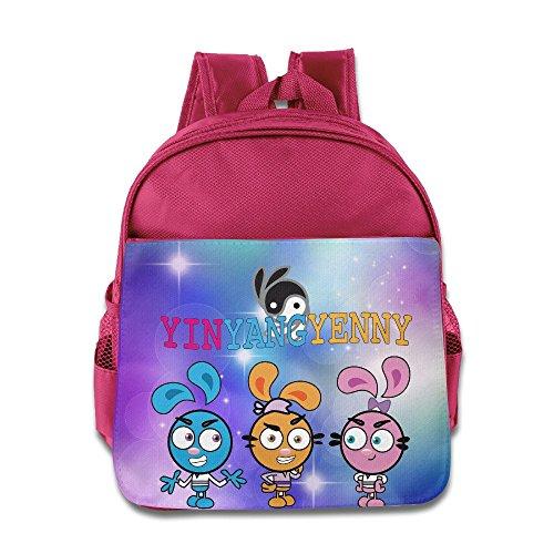 Toddler Kids Yin Yang Yo School Backpack Fashion Children School Bags Pink