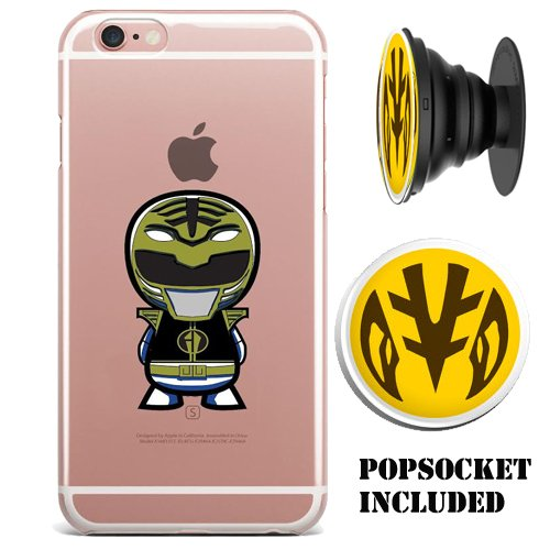Power Rangers Gel / Jelly iPhone 6/6s (4.7 inch) case (includes matching...