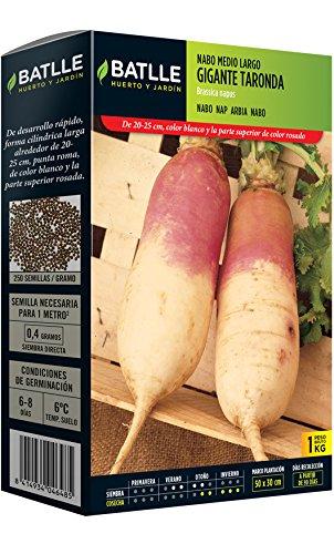 Semillas Batlle - Nabo Norfolk Cuello Rosa Caja 250G: Amazon.es ...