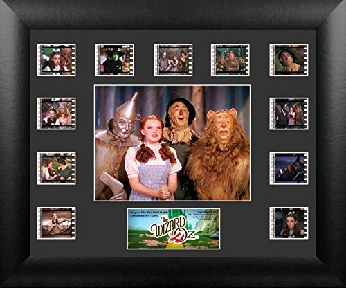 Wizard of Oz (S9) Mini Montage USFC6338 Framed and Matted Authentic Film (Wicked Witch Of West Name)