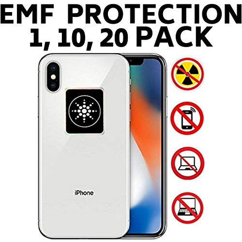 EMF Radiation Protection for CELLPHONES/Laptop - Anti EMF/EMR Radiation  Sticker - Radiation Neutralizer Shield Blocker - Remove Electronic