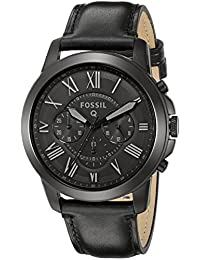 Fossil Q Grant Gen 1 Hybrid Black Leather Smartwatch