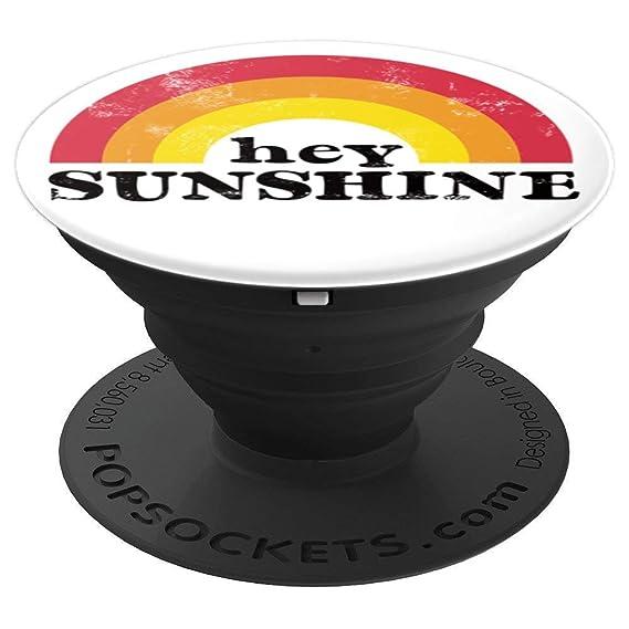 Amazon com: Retro 70s Rainbow, Hey Sunshine, Vintage Hippie Art