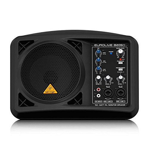 Behringer EUROLIVE B205D Active PA/Monitor Speaker Black by Behringer