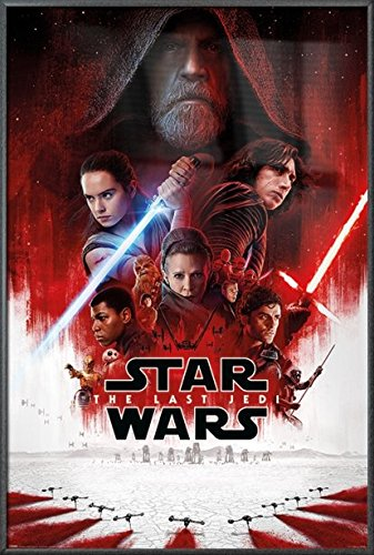 Star Wars: Episode VIII - The Last Jedi - Framed Movie Poste