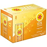 IZZE FUSIONS Sparkling Beverage, Orange Mango, 12 Ounce,  8 Count