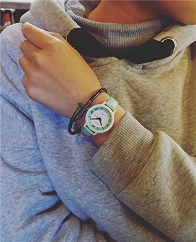 Generic Girls High School junior high school students test watch Korean fashion simple leather belt influx of women small fresh candy colored jelly