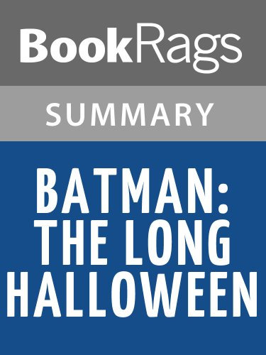 Summary & Study Guide Batman: The Long Halloween by Jeph Loeb -