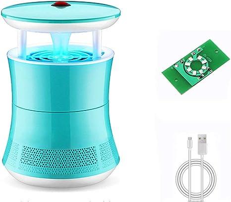 LWYJ Mosquito Asesino Interfaz Repelente de Insectos USB Aspirador Mosquito Trampa Adecuado para Sala de Estar Cocina Dormitorio Seguro e Inofensivo: Amazon.es: Deportes y aire libre