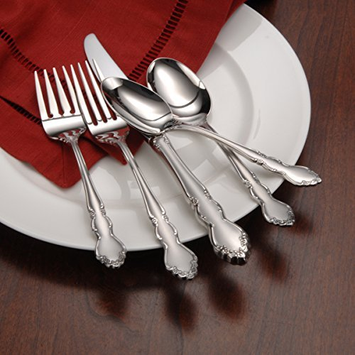 Oneida Satin Dover 20-Piece Flatware Set , Service for 4 by Oneida (Image #6)