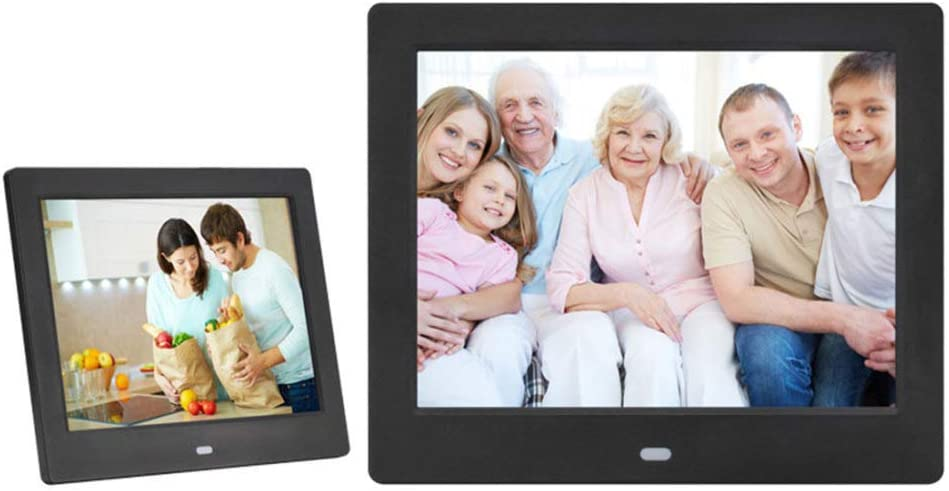 XIAOYUB Digital Photo Frame 8 Inch LCD Tft Video Misuc Player Abs Plastic