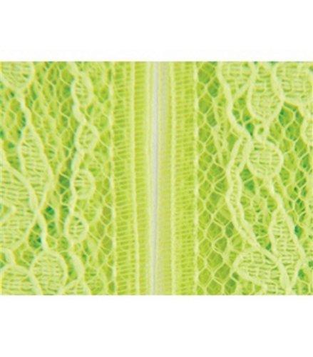 Flexi-Lace Hem Tape 3/4 Inch 3 Yards-Lime ()