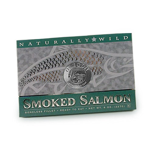 (Made In Oregon Smoked Wild Salmon Fillet 8 oz.)
