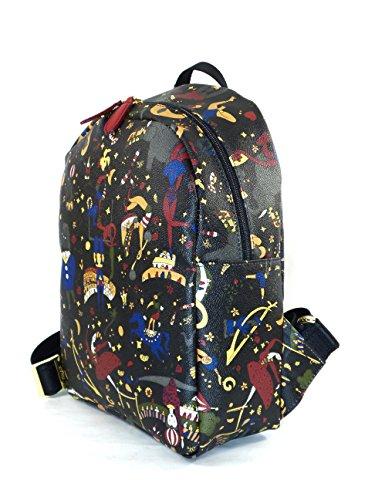 piero guidi - Bolso mochila  para mujer violeta ciruela