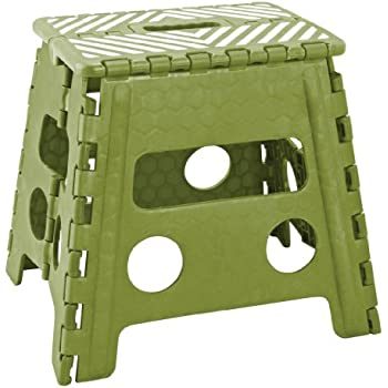 Amazon Com Simplify 13 Inch Folding Step Stool Emerald