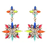 Amrita Singh Rock Princess Earrings Multicolor