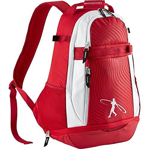 Nike Griffey Swingman Baseball Bat Backpack 2.0 in Red and White - Bat Bag Nike