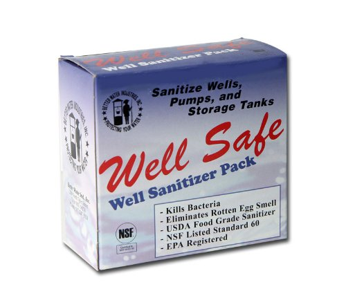 Well-Safe C21000 Well Sanitizer Pack