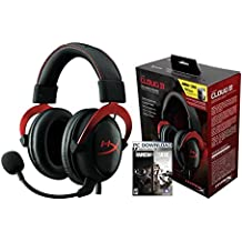 HyperX Cloud II Rainbow Six Siege Bundle, Gaming Headset for PC & PS4 and PC Game Code (HG-HS2RD-1B)