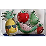 Meri Meri Fruit Cookie Cutters, Metal, Set of 5