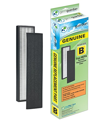 Germguardian Flt4825 Genuine True Hepa Replacement Filter B For Ac4300 Ac4800 4900 Series Air Purifiers