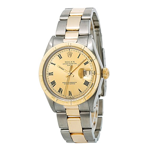 Rolex Date Automatic-self-Wind Male Watch 1501 (Certified (Pre Owned Mens Rolex)