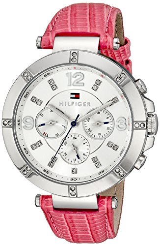 Tommy Hilfiger Women's 1781537 Sport Lux Analog Display Quartz Pink Watch