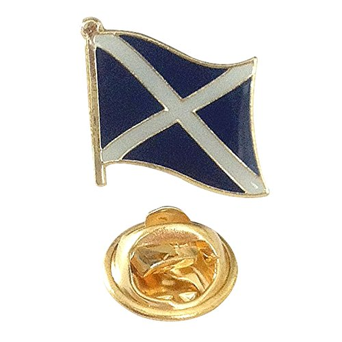 "Scotland UK Flag Metal Collectible Olympics Backpack/Lapel Pin (Scottish pin, 0.75"" x 0.75"")"