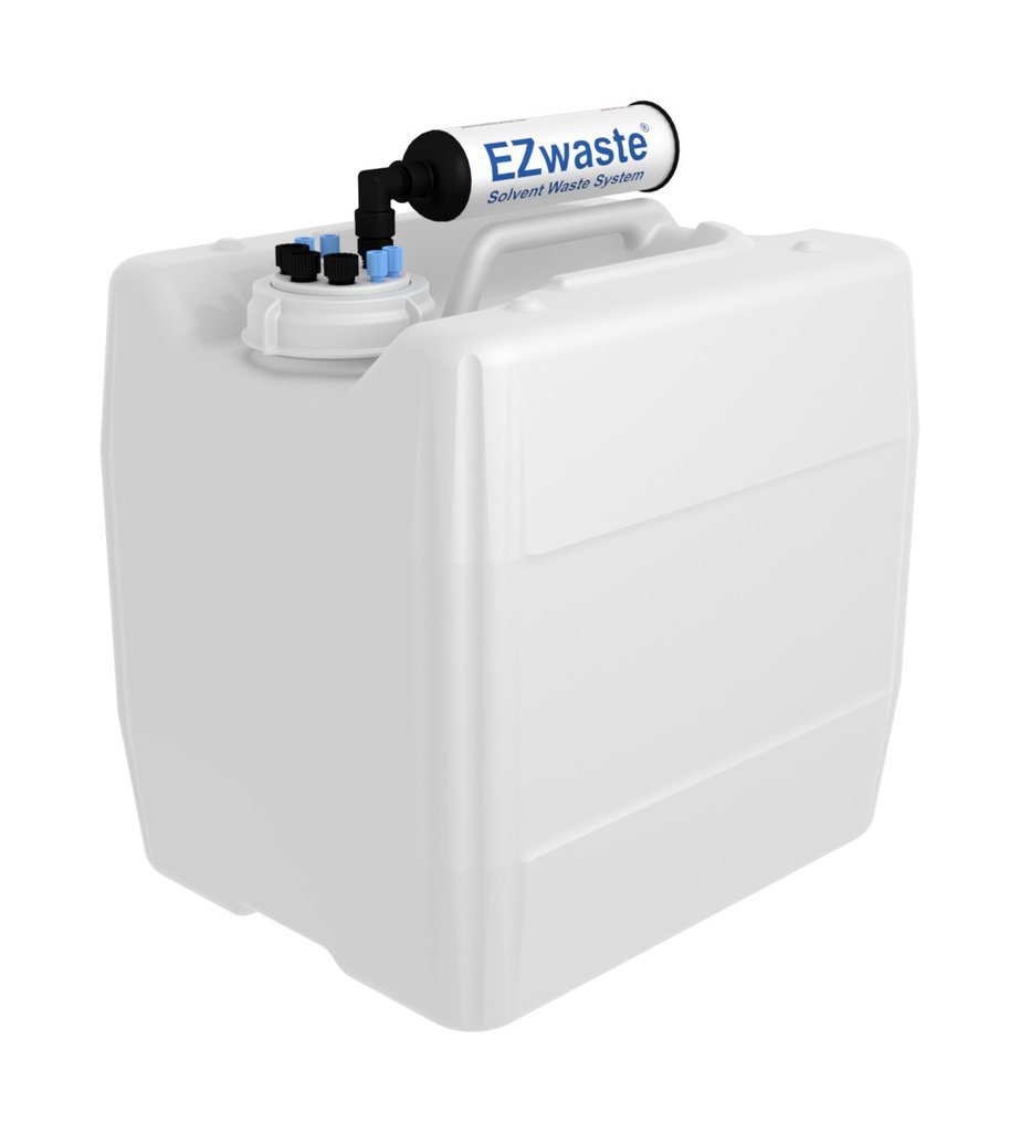 3X 13.5L Tubing Ports for 1//8 Inch O.D Ports for 1//4 Inch O.D UN//DOT-Rated Disposable Container 3.5 Gal 70mm VersaCap w//Four EZwaste HPLC Solvent Waste System 4X Tubing; Three