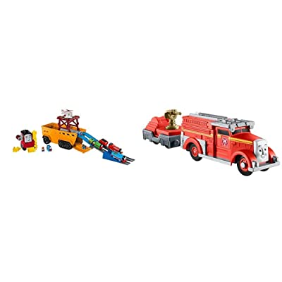 Thomas & Friends Fisher-Price Super Cruiser & Thomas & Friends Trackmaster, Fiery Flynn: Toys & Games