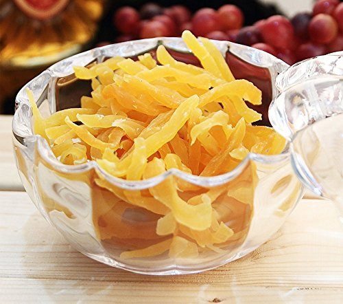 MISS TUTU Pumpkin Shape Crystal Glass Snack Jar Sugar Pot Storage Lid by MISS TUTU (Image #5)