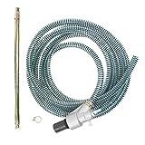 "B E Pressure 9001-9 Sandblast Kit, Heavy Duty, Wet, 5000 psi, 3/8"" MNPT, Grey"