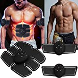 Mewalker Muscle Toner, Waist Trimmer Abdominal Muscle Trainer Toning Belt Smart Body Building Fitness Equipment for Abdomen/Arm/Leg (US Stock)