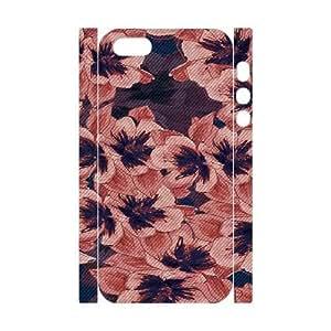iphone5s Phone Case White Dark Tapestry Floral VMN8107629