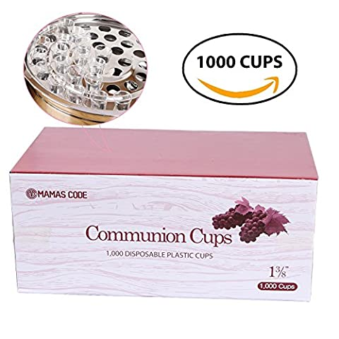 MAMASCODE | Disposable Communion Cups 1000 pcs 1-3/8