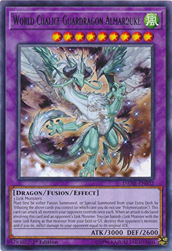 - Yu-Gi-Oh! - World Chalice Guardragon Almarduke - DANE-EN032 - Rare - 1st Edition - Dark Neostorm