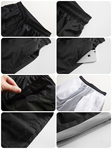 Negro Corto Alider Para Hombre Pantalón wIw7x5fqC