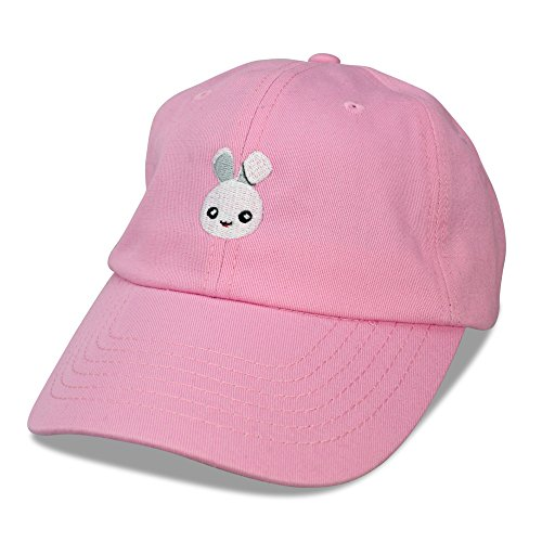 Bunny Baseball (DALIX Cute Bunny Dad Hat Cotton Twill Baseball Cap Embroidered Design)