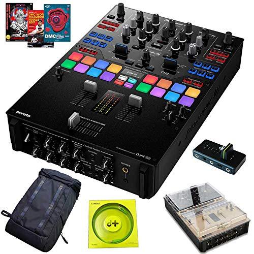 Pioneer DJ パイオニアディージェイ DJM-S9+持ち運び用キャリングバックパック+アクセサリーの7点セット   B07V81MRMH