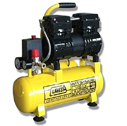 CLAVESA MTS1006 Compresor Silencioso Amarilla